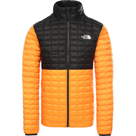 The North Face ThermoBall Eco Light Veste Homme, flame orange/tnf black